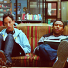 walkingshadow: troy and abed chilling on the couch (in college you know who you are)
