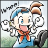 stealth_noodle: The farmer from Harvest Moon bubbling over with glee. (glee)