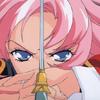 veleda_k: Utena from Revolutionary Girl Utena looking badass with a sword (Utena: Badass Utena)