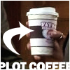 "lunate8: Cup of Fatboy coffee with ""Plot Coffee"" text (Default)"