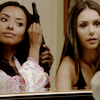 allchildren: bonnie bennett & elena gilbert (ⱴ will be girls)