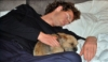 bronze_ribbons: Andy Murray snoozing with his dog (muzz with maggie)