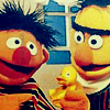 china_shop: Bert and Ernie have a rubber duck (Bert & Ernie with rubber duck)