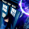 lanjelin: The tenth Doctor and the TARDIS (Ten and TARDIS)
