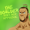 nagia: (avatar; the boulder does not approve)