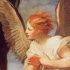 """siegeofangels: The angel from Guido Reni's """"The Angel Appearing To St. Jerome"""" (good)"""