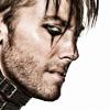 pensnest: Lance Bass, collar, eyeliner, stubble, hair (Lance collared)