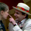 darchildre: seventh doctor tweaking ace's nose (aces are rare)