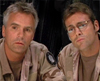 arduinna: Jack and Daniel from SG1, looking interested (JD - huh)