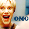 apatheia_jane: starbuck shocked/happy, text: OMG (starbuck omg)
