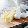 reika: photo of butter, eggs, and a whisk (baking)