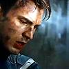 isagel: Steve Rogers from The Avengers, his face dirtied from battle. (avengers steve)
