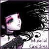 hiddentohru: A lovely musical goddess. (Musical Goddess Nota)