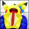 mikaristar: Peachy, Pikachu, Pokemon (Hotdog)
