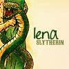 lenabee: lena is a slytherin (lena is a slytherin)