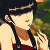 serpentine: Mai looking pensive with chopsticks (A:TLA - Mai eating w/ chopsticks)
