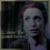 sharpiefan: Major Kira, text: And now the good news? (Kira good news?)
