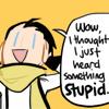 """perestroika: Ryoji of Persona 3 saying """"Wow, I thought I just heard something stupid!"""" (i thought i just heard something stupid)"""