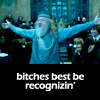 sexyscholar: (HP - Bitches best be recognizin')