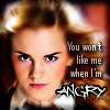 """kerravonsen: Hermione: """"You won't like me when I'm angry"""" (Hermione-angry)"""