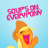 peculiarcolour: (applejack soup's on)