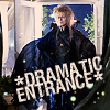 cinco: Jareth likes to make a dramatic entrance (movies: labyrinth: jareth's dramatic ent)