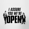 cinco: Jay and Silent Bob assure you we're open (movies: clerks: assuredly open)