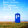 ronsoftie: ([Doctor Who] TARDIS)