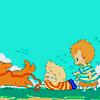 kuruk: ([mother 3] runaway dog)