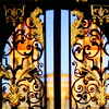 up_at_oxford: photo of the gates of All Souls (All Souls)