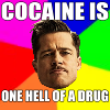 countess_cutlass: cocaine one helluva drug - inglorious basterds (cocaine one helluva drug - inglorious ba)