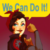 moetushie: Asami channels Rosie the Riveter. (we can do it!)
