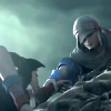 sathari: from opening FMV of FFIV:TAY, Kain saving Ceodore (Kain- rescue)