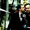 girlanachronism: Brandon Flowers on a bike kissing his bandmate on the cheek (Killers Kiss)