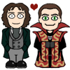 doctor_and_master: Cartoon Eight and Roberts!Master (Eight/Roberts!Master)