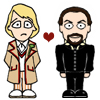 doctor_and_master: Cartoon Five and Ainley!Master (Five/Ainley!Master)