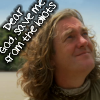 james: James May praying to be saved from idiots (idiots)