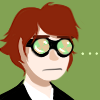 thumbscrews: Martin surprised and slightly confused by something. An ellipsis floats languidly nearby. (Seriously?)