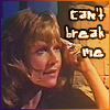 "hokuton_punch: Screenshot of Jo from Doctor Who, captioned ""can't break me."" (doctor who jo is awesome)"