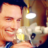 onlysayinghello: ([emote] drinking smile over rim)