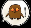 sporky_rat: An Brown Owl from the Bunny Comic  (sca)