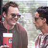neigedens: jeff and abed are hungover (jeff/abed)