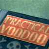 sofiaviolet: closeup of a book titled Practical Voodoo (practical voodoo, this counts as research)