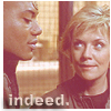 paian: Teal'c and Carter, caption 'indeed' (indeed by thefakeheadline)