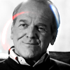 kass: Leo McGarry, in black and white. (leo)