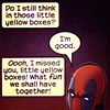 samwise: Deadpool (Comic → Yellow Boxes)