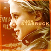 xnera: Icon of Kara Thrace from Battlestar Galactica. (Starbuck)