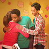 such_heights: annie and troy and abed having a group hug (community: annie/troy/abed)