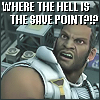 """xnera: Icon captioned """"Where the hell is the save point?"""" (where's the frakking save point?)"""