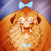megwrites: Beast, from Beauty & The Beast looking coiffed and unhappy. (WTF?)